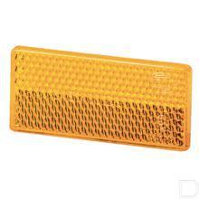 Reflector rechthoek oranje productfoto