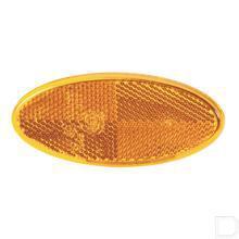 Reflector ovaal oranje productfoto