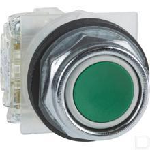 Drukknop NO+NC groen ,30mm productfoto
