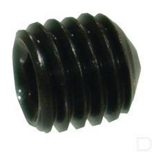 Inbusstelbout M5X20 zwart DIN914 productfoto