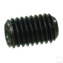 Inbusstelbout M12x16 zwart DIN916 productfoto