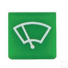 Wipschakelaar symbool groen ruitenwisser productfoto