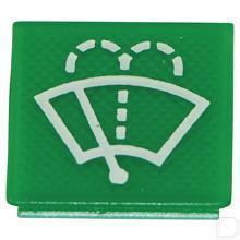 Wipschakelaar symbool groen wiser/sproeier productfoto