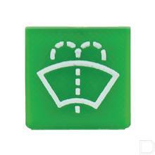 Wipschakelaar symbool groen ruitensproeier productfoto