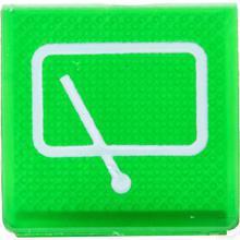 Wipschakelaar symbool groen achterwisser productfoto