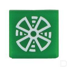 Wipschakelaar symbool groen aanjager  productfoto