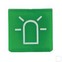 Wipschakelaar symbool groen zwaailamp productfoto