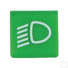 Wipschakelaar symbool groen dimlicht  productfoto