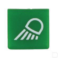 Wipschakelaar symbool groen werklamp  productfoto