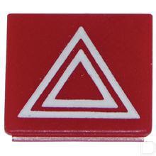 Wipschakelaar symbool rood alarmlicht  productfoto