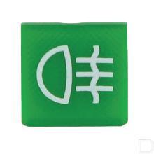 Wipschakelaar symbool groen mistlicht  productfoto