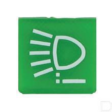 Wipschakelaar symbool groen voorlicht productfoto
