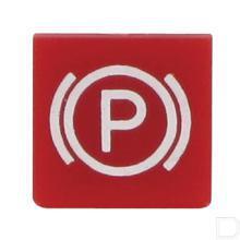 Wipschakelaar symbool rood parkeerrem productfoto