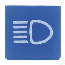 Wipschakelaar symbool blauw grootlicht productfoto