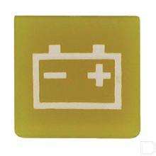 Wipschakelaar symbool accu geel productfoto