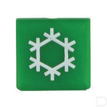 Wipschakelaar symbool airco groen productfoto