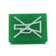 Wipschakelaar symbool groen signaalgever productfoto