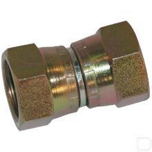 Verbindingskoppelingskoppeling BSP/JIC 3/4 - 1 1/16 productfoto