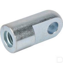 Aansluitoog M10 binnendraad boring Ø8,1mm productfoto
