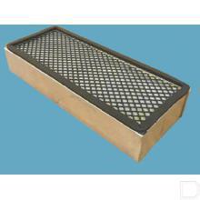 Actief koolstoffilter 300x120x55mm productfoto