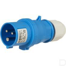 Stekker 6h 16A 3P 230V IP44 QC MG Ni productfoto