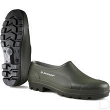 Werkschoen Bicolour rubber unisex CE maat 40 laag model groen productfoto