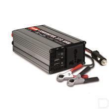 Omvormer 300W 12V-230V  productfoto