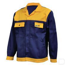 Werkjas marineblauw/geel maat 52 / L productfoto