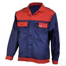 Werkjas marineblauw/rood maat 56 / XL productfoto