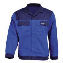 Werkjas blauw/marineblauw maat 62 / 3XL productfoto