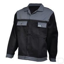 Werkjas zwart/grijs maat 56 / XL productfoto