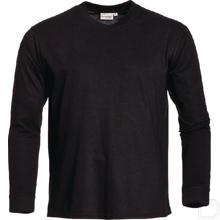 T-shirt James lange mouw zwart 52/54 / L productfoto