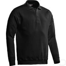 Polosweater Robin zwart 48 / S productfoto