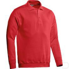 Polosweater Robin rood maat L productfoto