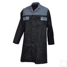 Stofjas zwart/grijs maat 48 / S productfoto