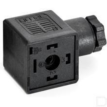 Ventielstekker DIN43650-A 18mm 250V PG9 productfoto