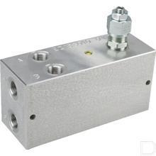 Cartridgeblok aluminium (2011-T6) blank geanodiseerd productfoto