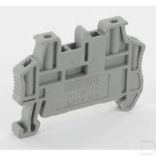 Snelmontage-eindsteun breedte 5,15mm grijs productfoto