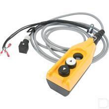 Schakelkast met 2 drukknoppen voor DC-Unit inclusief kabel 4000mm productfoto