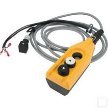 Schakelkast met 2 drukknoppen voor DC-Unit inclusief kabel 6000mm productfoto