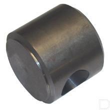 Cilinderbodem Ø75mm boring Ø63mm met gat Ø25,25mm productfoto
