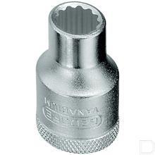"Dopsleutel 1/2"" 4-kant met dop 16mm 12-kant  productfoto"