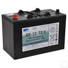 Semi-tractie gelaccu 12V 80Ah 330x171x236mm pooluitvoering 1 productfoto