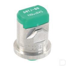 Dubbele spleetdop DGTJ 110° groen RVS productfoto