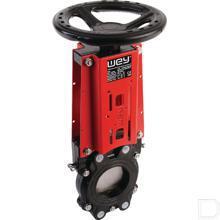 Schuifafsluiter met handwiel DN80 productfoto