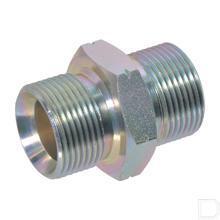 Dubbelnippel M10x1,0 productfoto