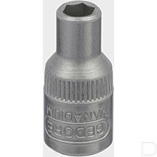 "Dopsleutel 1/4"" 4-kant met dop 4mm  productfoto"