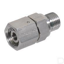 Koppeling 12L 1/2 RVS316 BSP productfoto