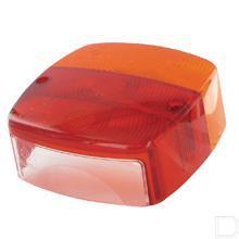 Lampglas vierkant passend voor achterlicht BBSK1235 productfoto