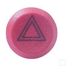 Drukschakelaar gevarenlicht gearreteerd 12V rood productfoto